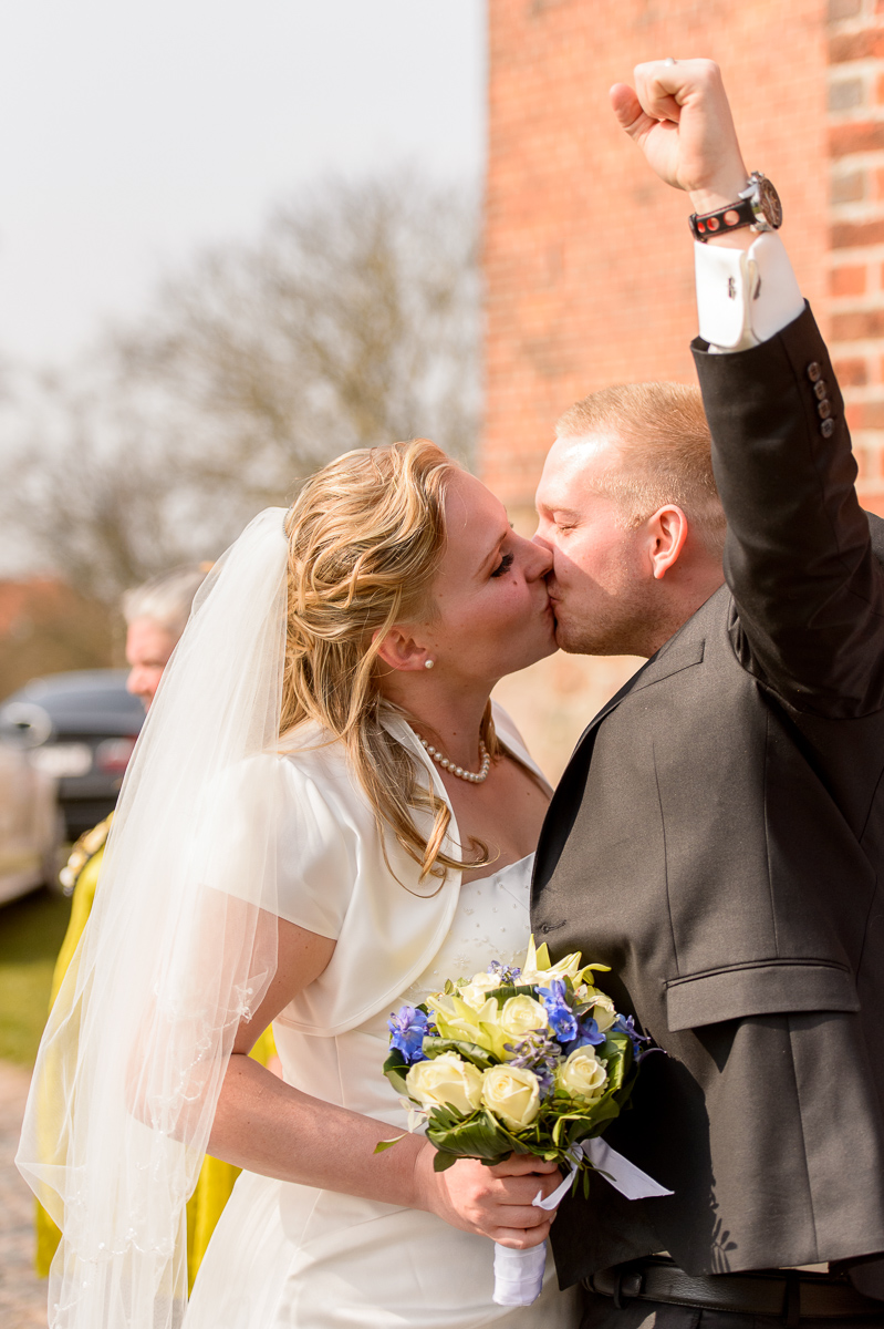 Kirke bryllup Anja og Tobias
